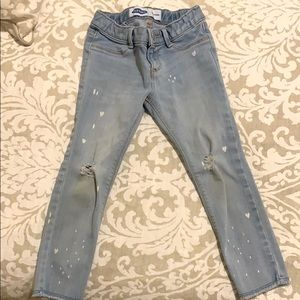 Old Navy girls jeans size 4T